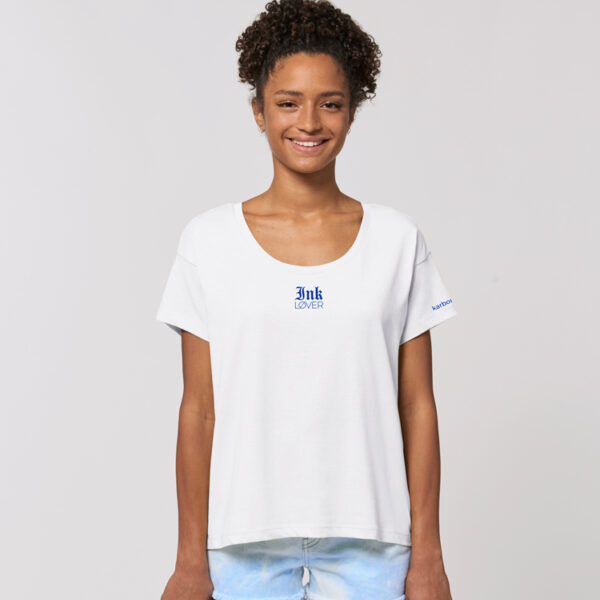 t shirt chiller blanc ink lover karbone