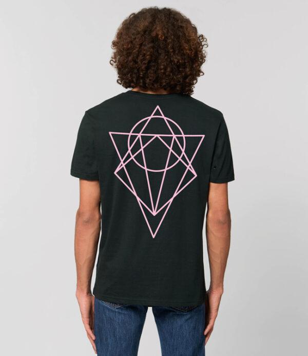 t shirt karbone unisexe ink lover noir